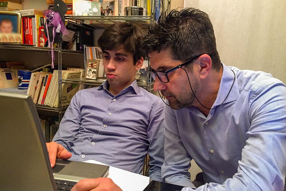 Andrea Russo compara assieme al cliente i fattori di successo